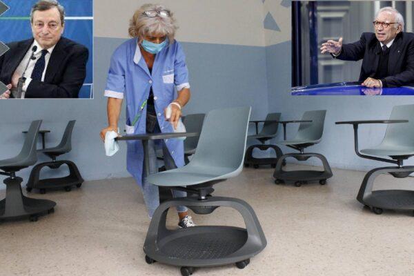 Nuovo debito pubblico per la Scuola, si spera non per aggeggi tipo banchi con rotelle